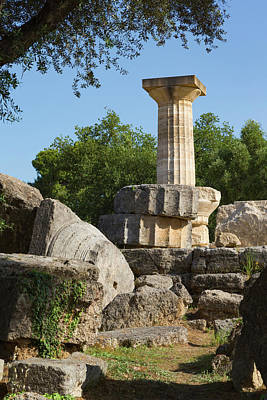 Zeus Photograph - Olympia, Peloponnese, Greece. Ancient by Panoramic Images