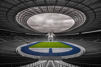 Olympia Stadion Berlin Art Print