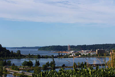 Photograph - Olympia View by Jeanette C Landstrom