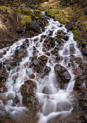 Photograph - Olympic Cascade 1 by Joe Doherty