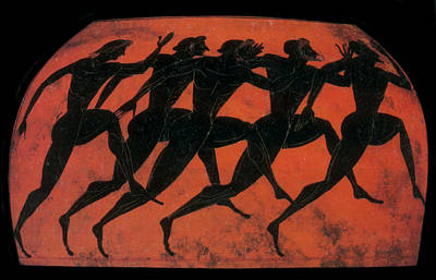 Photograph - Olympic Games, Stadion, Black-figure by Science Source