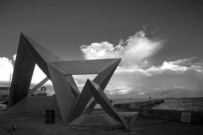 Photograph - Olympic Harbour Sculpture  by Jim Vance