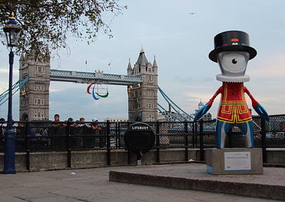 Firefighter Patents - Olympic mascot by Ash Sharesomephotos