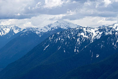 Photograph - Olympic Mountains In May by Marie Jamieson