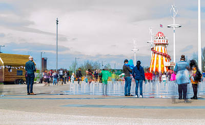 Photograph - Olympic Park - Reopening by Andrew Lalchan