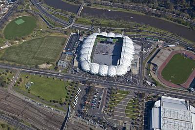 Photograph - Olympic Park Stadium, Melbourne Park by Brett Price