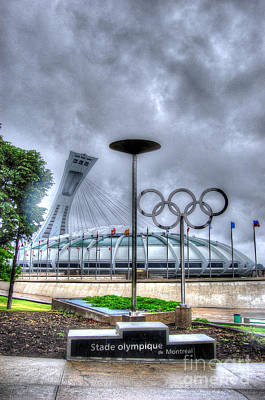Photograph - Olympic Stadium by Bianca Nadeau