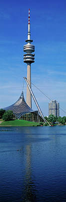 Munich Photograph - Olympic Tower In The Olympic Park by Panoramic Images