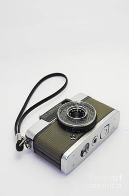 Olympus Pen-film Camera Art Print by Tuimages