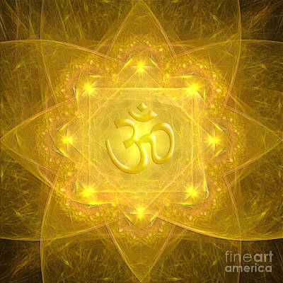 Digital Art - Om Mandala by Alexa Szlavics