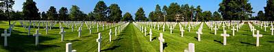 Photograph - Omaha Beach American Cemetery Panorama II by Weston Westmoreland