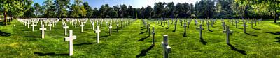 Photograph - Omaha Beach American Cemetery Panorama IIi by Weston Westmoreland