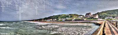 Photograph - Omaha Beach From The Pier by Weston Westmoreland