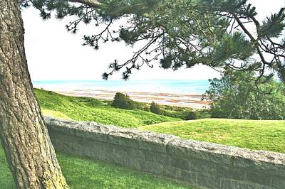 Photograph - Omaha Beach In Normandy by Gordon Elwell