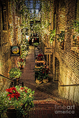Photograph - Omaha's Old Market Passageway by Elizabeth Winter