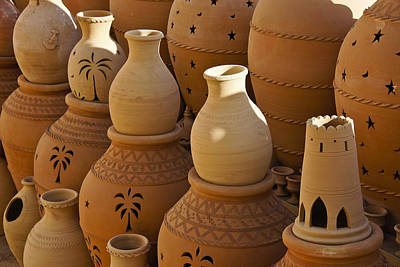 Photograph - Omani Pottery by Michele Burgess