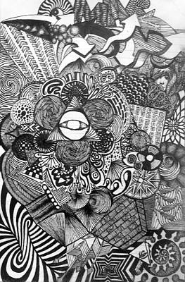 Illuminati Drawing - Omar by Suliman Laota