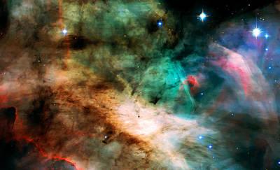 Nebula Images Photograph - Omega Swan Nebula 2 by Jennifer Rondinelli Reilly - Fine Art Photography