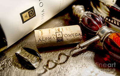 Wine Vineyard Photograph - Omega Uncorked by Jon Neidert