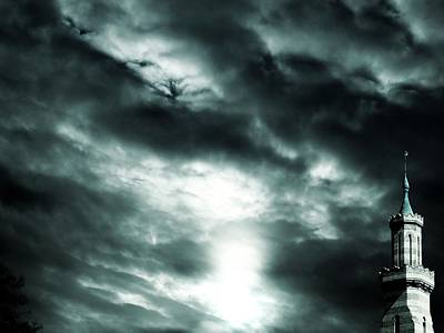 Ominous Skies Art Print