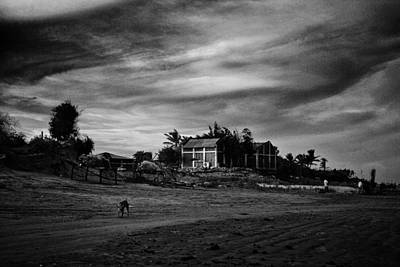 Photograph - Ominous Sky by Arkamitra Roy
