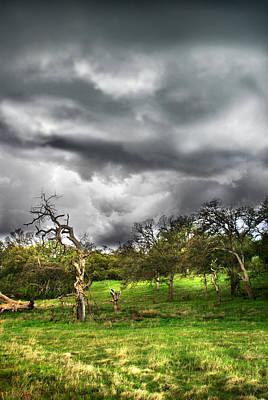 Ominous Storm Brewing Art Print