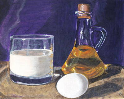 Painting - Omlet by Vera Lysenko