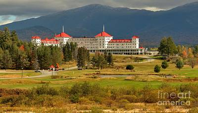 Photograph - Omni Resort By Crawford Notch - New Hampshire by Adam Jewell