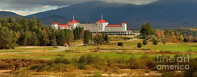 Photograph - Omni Resort White Mountains Panorama by Adam Jewell