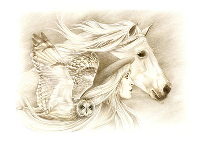 Stevie Nicks Drawing - On A Journey... by Johanna Pieterman