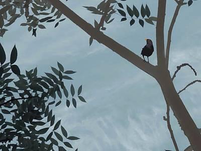 Pistache Tree Digital Art - On A Limb by Melissa Eglington