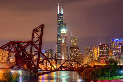 Chicago Photograph - On A River 2 by Kevin Eatinger