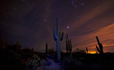 Astro Photograph - On A Starlit Night  by Saija  Lehtonen