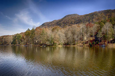 Photograph - On Bald Mountain Lake by Ben Shields