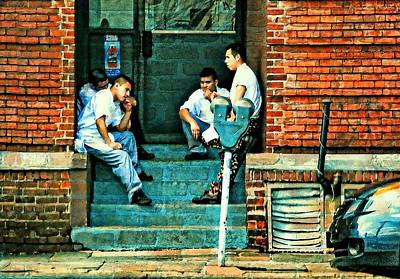 Port Chester Photograph - On Break by Diana Angstadt