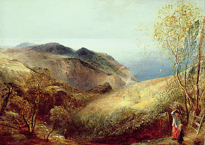 Bale Painting - On Chalden Down, Dorset, C.1834-35 by Samuel Palmer
