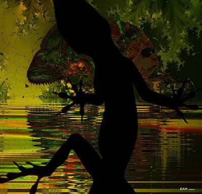 Surrealism Digital Art - On Closer Inspection #2 by Elizabeth McTaggart