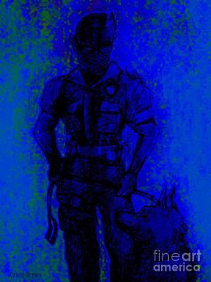 On Command Art Print by Craig Green
