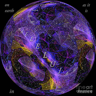 Digital Art - On Earth As It Is In Heaven by Margie Chapman
