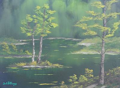 Painting - On Emerald Pond by Bob Williams