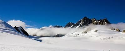 On Fox Glacier Art Print