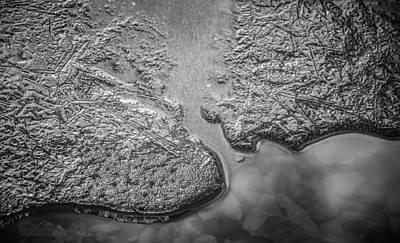 Thomas Kinkade Royalty Free Images - Ice Islands  Royalty-Free Image by Roxy Hurtubise