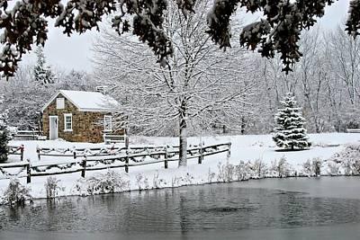 Photograph - On Frozen Pond by DJ Florek