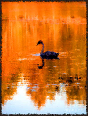 On Golden Pond Print by Jack Gannon