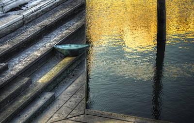On Golden Pond Print by Wayne Sherriff