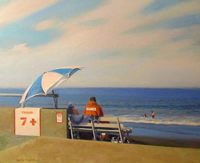 On Guard Art Print by Dianne Panarelli Miller