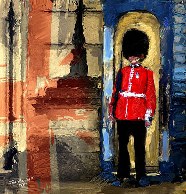 On Guard For Thee Art Print