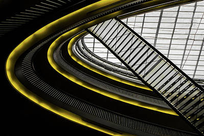 Grid Photograph - On Higher Level ... by Gilbert Claes