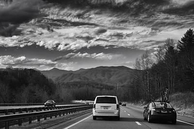 On Interstate 40 West Art Print