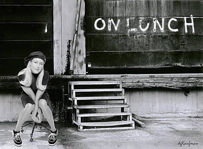Photograph - On Lunch With Kellyjo by Dolores Kaufman